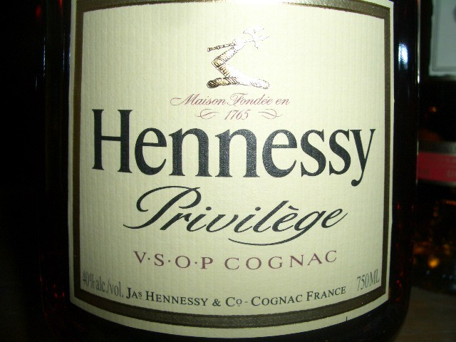 HENNESSY V.S.O.P. PRIVILEGE 750ml