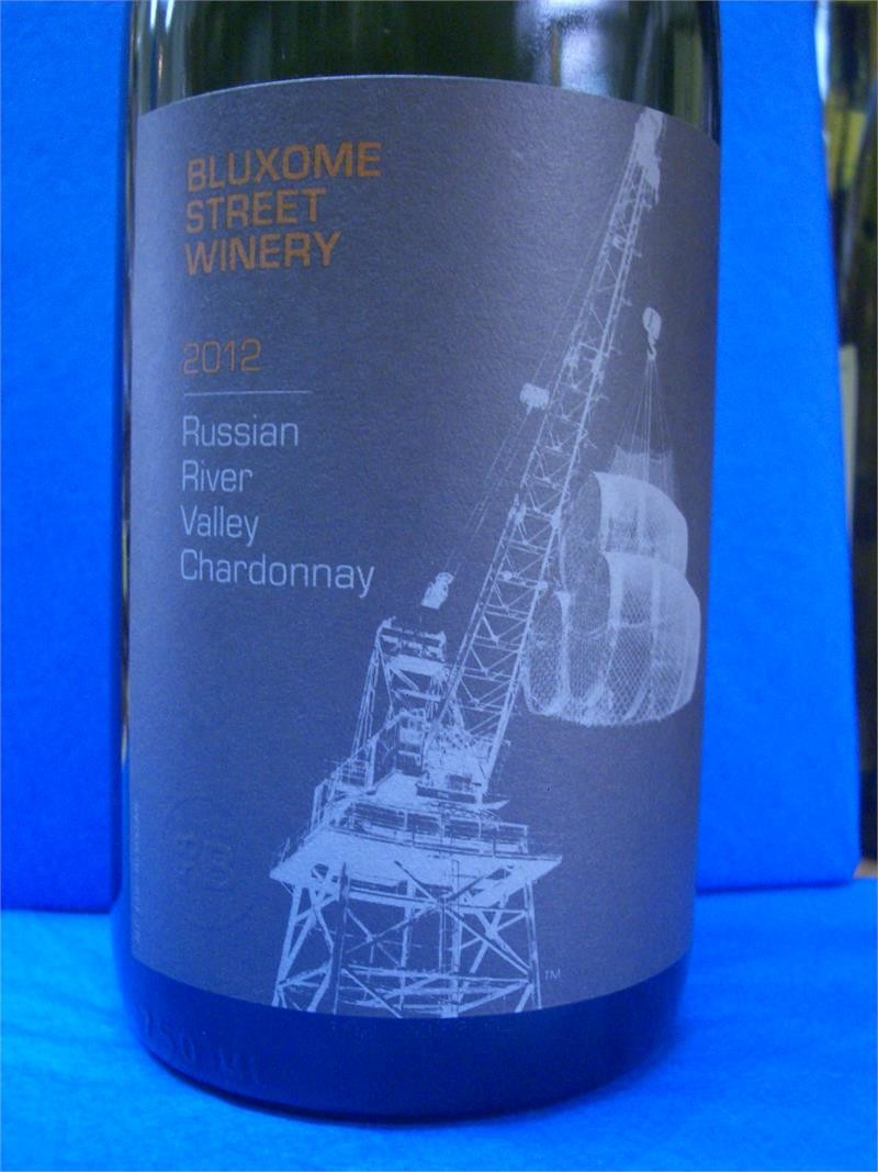 BLUXOME STREET CHARDONNAY RUSSIAN RIVER 750ml